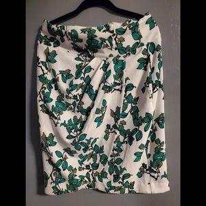 🖖2for$25🖖 NW Eva Mendes Green/White Pencil Skirt